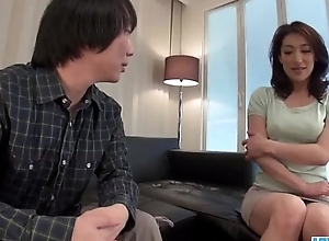 Marina Matsumoto acquires drilled until a consequential creampie end