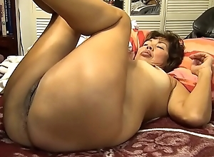 POV Screwing MATURE Oriental WIFE