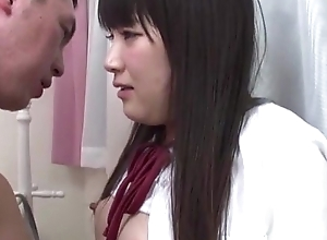 Japanese school girl drilled everlasting - befucker.com