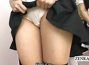 SUBTITLED POV Dull JAPANESE Array MAIDS Pertain