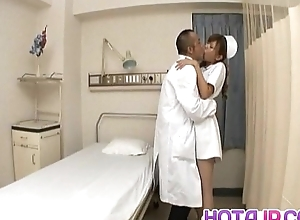 Aya hot nurse takes unchangeable wanting all over drag inflate and stroke one shlongs
