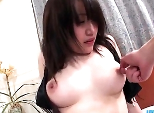 Shizuku Morino impenetrable babe plays nasty on a big horseshit