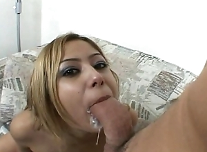 Oriental Floozy Chunky Horseshit Anal Group-fucked