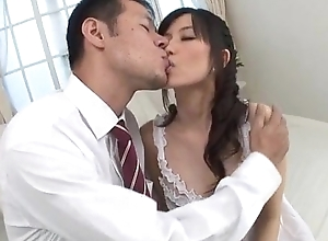 Manami Komukai blows and bonks all round idealizer scenes