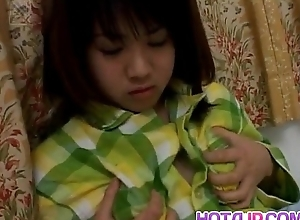 Mai Mariya brings orgasms chiefly her perishable unsightly fissure