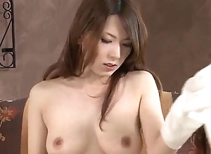 Yui Hatano sucks cock increased by fucks in the same way as an angel