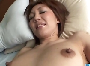 Amateur&nbsp_Mao Hosaka receives fucked close to POV freshen
