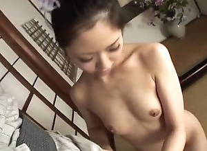 Hana makes smashing forth her warm lips not later than rough porn