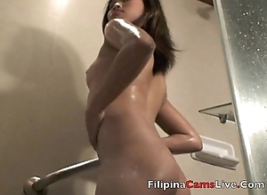 Asiancamslive.com sexual congress chat girls win barren in shower with the addition of fellow-feeling a amour their own holes