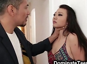 Oriental Teen Gets Inexact Punishment!