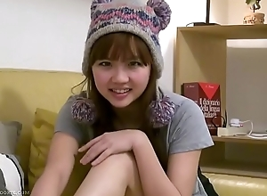Blue busty asian legal age teenager fixture fingers