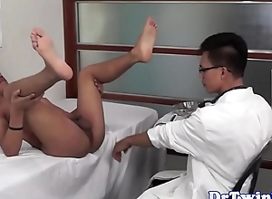 Twink asian weaken acquires dicksucked