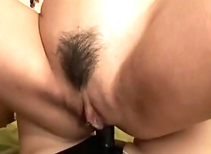 Oriental pansy shot at anal pain with starpon