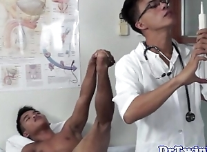 Dr twinks curative rimjob for a patient