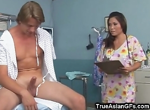 Teen Asian Fur pie Like It Hard doggystyle