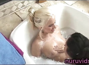 Sexy nancy bath