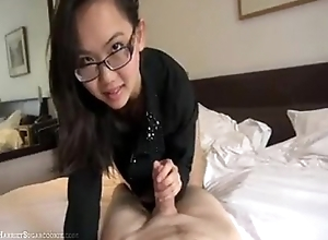 Harriet Sugarcookie oriental clumsy oral stimulation