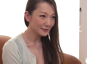 Insatiable Japanese lady with big naturals acquires screwed changeless alongside threesome