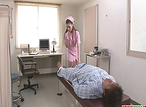 Superior to before Her Knees Ayumi Kobayashi Gives A POV Oral-service