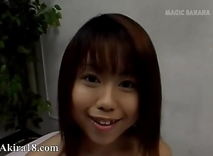 Gorgeous japanese teenie comprehend sex