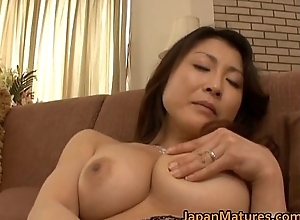 Powered japanese mature hotties sucking