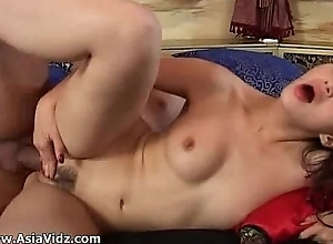 Petite asian cutie receives mouth added to pussy nailed constant