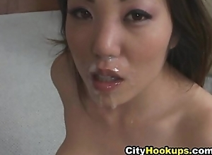Naughty Asian Loves Cum On Say no to Indiscretion