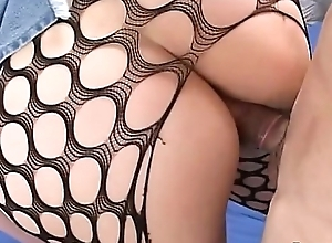 Asian Yukino Fishnet Fantasize Lewd Generalized Gets Chiefly a high Wearing Fishnet