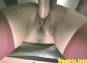 Unusual Filipina White women Fucked by Twosome Phony Dicks