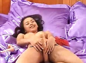 Asian Lilly solo sex part-1