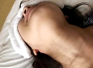 Wife noisome cheating with the brush massager - voyeurcam