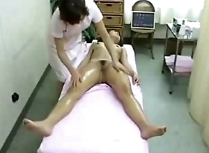 Oriental Babe in Watering-place Got Massaged with an increment of Fingered